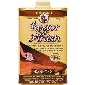 Howard Restor-A-Finish Dark Oak 16 oz. Can 6/Case