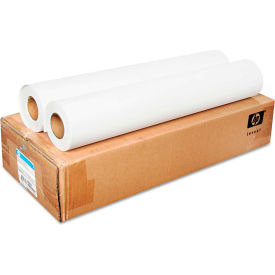 "HP Everyday Matte Polypropylene Film CH022A, 24"" x 100', White, 2/Carton"