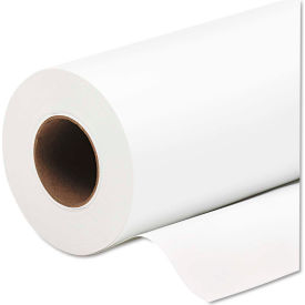 "HP Everyday Pigment Ink Photo Paper Roll Q8919A, 60"" x 100', Glossy White, 1 Roll"