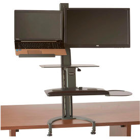 HealthPostures TaskMate Go Sit-Stand Laptop Holder & Monitor Mount