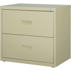 """Hirsh Industries® HL1000 Series® Lateral File 30"""" Wide 2-Drawer - Putty"""