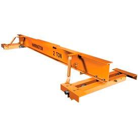 Harrington CHPC 500 Series Top Running or Underhung Push Complete Crane - 1 Ton, 10' Max Span