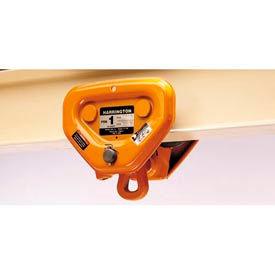 "Harrington PT Push Trolley PTF2010 1 Ton, Flange Adjustability 2.28"" to 5"" by"