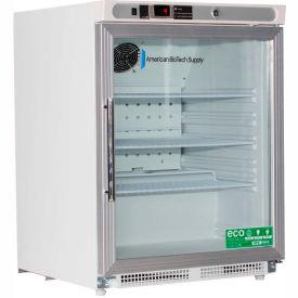 American Biotech Supply Premier Built In, Undercounter Glass-Door Refrigerator (ADA), 4.6 Cu Ft