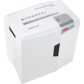 HSM® shredstar X8 Cross-Cut Shredder with CD Slot - 8 Sheet - 4.8 Gallon Capacity - White