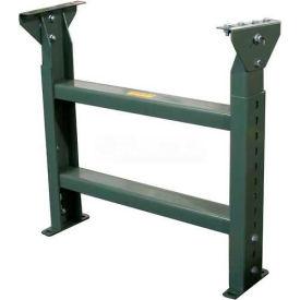 """Hytrol® Stationary Floor Support MS-7-40 - 40""""W - Max. Leg 45-5/8""""H"""
