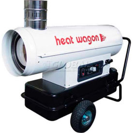 Heat Wagon Oil Indirect Fired Heater HVF110 110K BTU, Ductable by