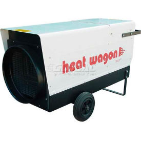 Heat Wagon Electric Heater P6000 - 60/48/24 KW, 205000 BTU, 480V, Ductable