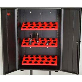 Huot® 55781 Wall Tree Locker for HSK100A Taper Toolholders