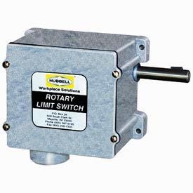 Hubbell 54BB43EC Series 54 Watertight Limit Switch - 72:1 Gear Ratio w/ 4 Contact Blocks