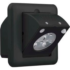 Compass Lighting CJBBE Emergency Light, J-Box Mount, Black, NiMH battery, 120/277V