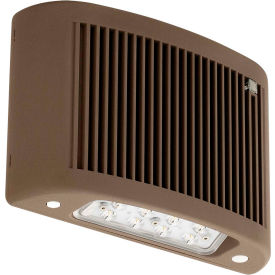 Lighting Fixtures Outdoor Wall Packs Comp Cuso Db Led Emergency Light 30k Nicad Battery Wet Loc Dk Bronze B2258459