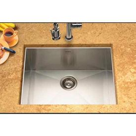 Houzer CTS-2300 Undermount Stainless Steel Single Bowl Kitchen Sink