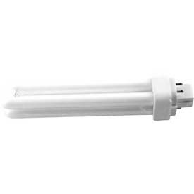 Howard Lighting Compact, Double Tube 4-Pin, Initial Lumens 1200, 18w, 2700k, Fluorescent Bulb - Pkg Qty 50