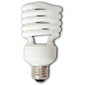 Howard Lighting Self-Ballasted Compact, Mini Spiral, 2700k, 1600 Lumens, 23w, 120v Bulb - Pkg Qty 48