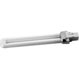 Howard Lighting Compact, Single Tube 2-Pin, Initial Lumens 400, 7w, 4100k, Fluorescent Bulb - Pkg Qty 50