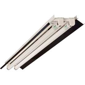 "Howard Lighting Retrofit Strip, FSR8, 8'L x 4-1/4""W, F54T5HO, 120-277V, 2 Lamps, Rapid Start, T5"