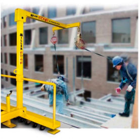 Miller® Edge™ Fall Protection System, 7.5' H, 9081/