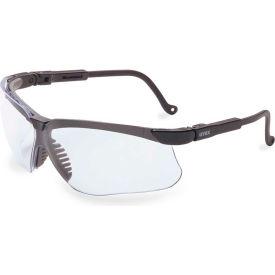 Uvex® S3200HS Genesis Anti Fog Safety Glasses, Black Frame, Clear Lens