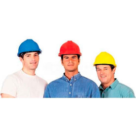 ComfitWear® Hard Hat For Head Protection, Polyethylene, Blue - Pkg Qty 20