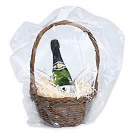 """PVC Domed Shrink Bag 24""""W x 24""""WL 100 Gauge Clear 100 Pack"""