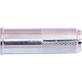 1/4-20 Ultra-Drop™ Drop-In Anchor - Lipped - Steel - Zinc - Pkg of 100 - Wej-It WDL14