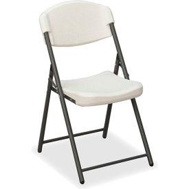 Iceberg Folding Chair - Platinum - Pack of 4 - Rough 'N Ready Series