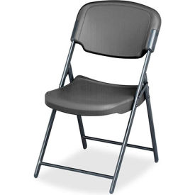 4-Pack Rough 'N Ready Folding Chair - Charcoal