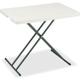 "Iceberg IndestrucTable TOO™ Folding Table - 30"" x 20"" Personal - Platinum - 1200 Series"