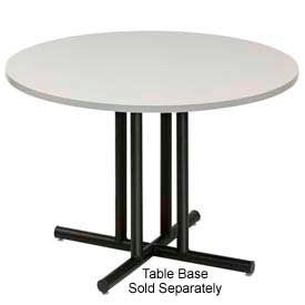 "36"" Round Conference Table Top, Gray by"