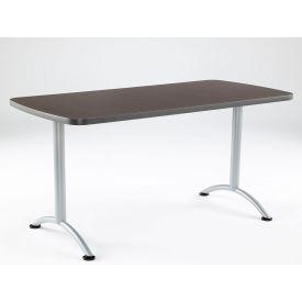 "Iceberg ARC Conference Room Training Table - 60"" x 30"" Rectangular - Gray Walnut"