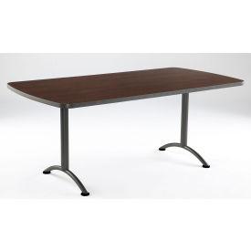 "Iceberg ARC Conference Room Training Table - 72"" x 36"" Rectangular - Walnut"