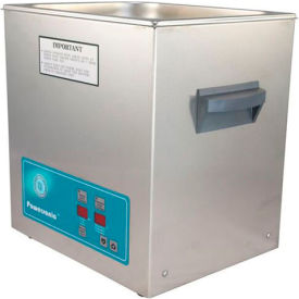 Ultrasonic Table Top Part Cleaning System - Digital Timer/Heat, 3.25 Gal, 45 kHz, 115V