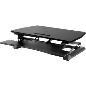AIRLIFT™ Electric Sit-to-Stand Adjustable Desktop Converter - Black