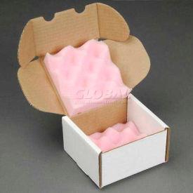 """Anti-Static Foam Shipper, 5""""W X 5""""L X 3""""D 200lb. Test - Pkg Qty 24"""