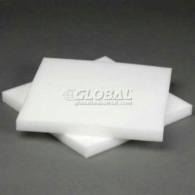 """White Foam Pad, 12""""W X 12""""L X 1""""D - 48 - Pkg Qty 48"""