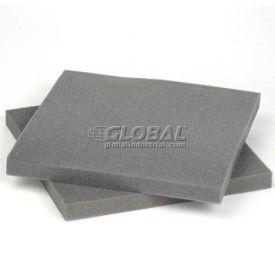 """Charcoal Foam Pad, 12""""W X 12""""L X 1""""D - 48 - Pkg Qty 48"""
