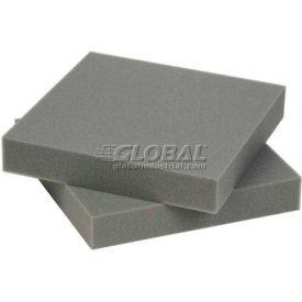 """Charcoal Foam Pad, 12""""W X 12""""L X 2""""D - Pkg Qty 24"""