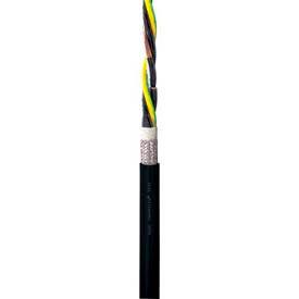 IGUS CF31-40-04 12/4 PVC Power Cable, Continuous Flex Power, Shielded, Oil/Flame Resistant