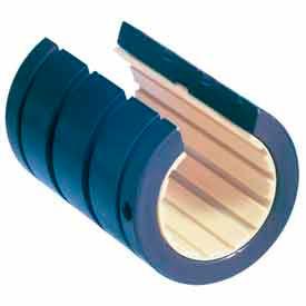 "IGUS OJUI-01-20 DryLin R Open Linear Polymer Bearing with Shell - 1-1/4"" Dia. Shaft"