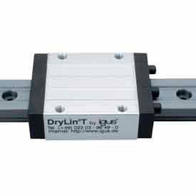 IGUS TS-01-15-1000 1,000 DryLin-T Hard Anodized Aluminum Rail - Size 15