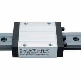 IGUS TS-01-25-1500 1500mm - DryLin-T Hard Anodized Aluminum Rail - Size 25