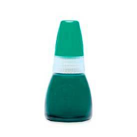 Xstamper® Refill Ink, 0.34 fl. oz. Bottle, Green
