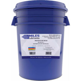 Milesyn Synthetic Blend Motor Oil, 5W-30, ILSAC GF-5, API SN, 5 Gallon
