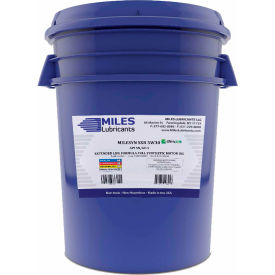 Milesyn SXR Full Synthetic Motor Oil, 5W-30, ILSAC GF-5, API SN, 5 Gallon
