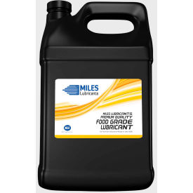 Miles FG Mil-Gear S ISO 460, Food Grade Synthetic Gear Oil, 1 Gallon Bottle