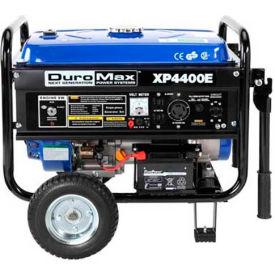 DuroMax XP4400E, 3500 Watts, Portable Generator, Gasoline, Electric/Recoil Start, 120/240V
