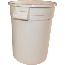 Impact® Gator® Container - 10 Gallon, White, 7710-1 - Pkg Qty 6