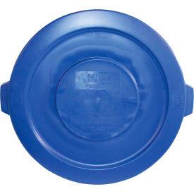 Impact® Gator® Lid - 20 Gallon, Blue, 7721-11 - Pkg Qty 12