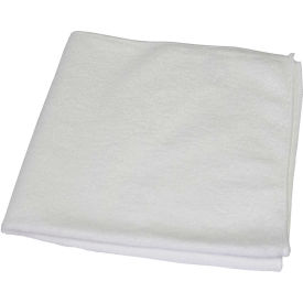 "Impact® All Purpose Microfiber Cloth, White 16"" X 16"" - LFK970 - Pkg Qty 8"